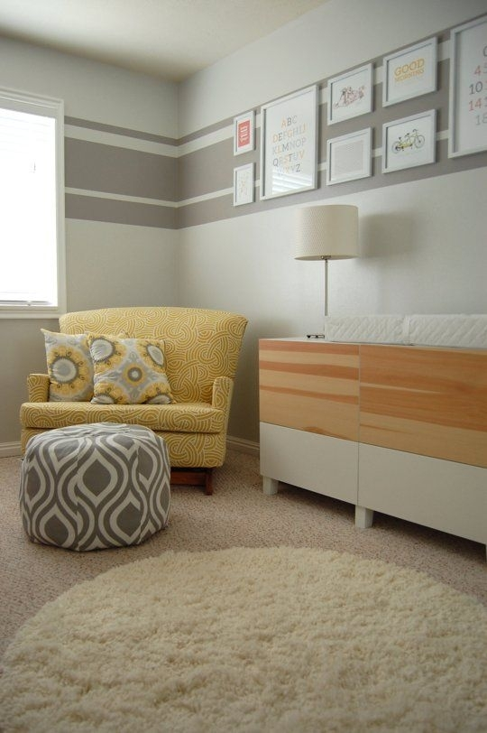 "A Soothing Modern Nursery For Baby ""a"" 
