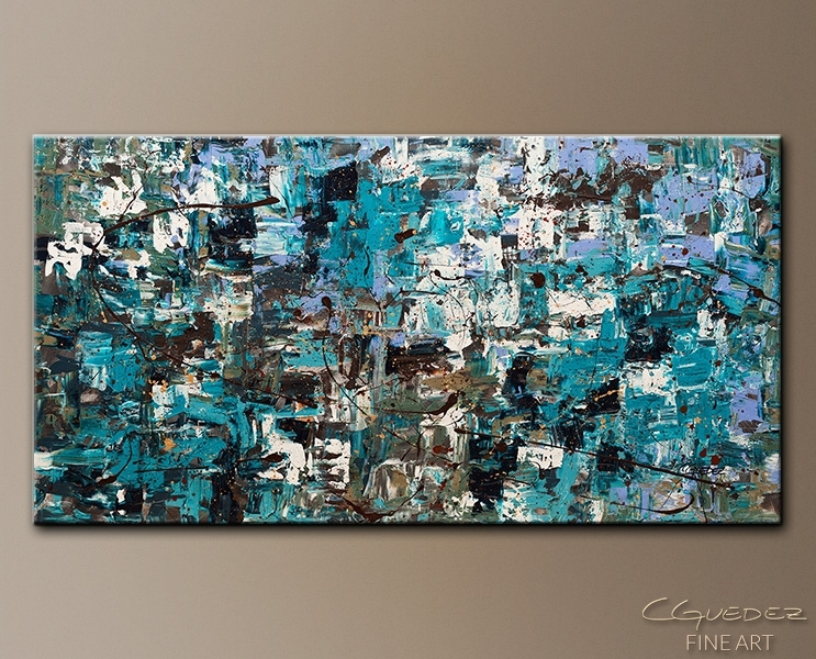 Abstract Art Paintings Gallery: Abstract Paintings For Sale With Regard To Original Abstract Wall Art (View 9 of 15)