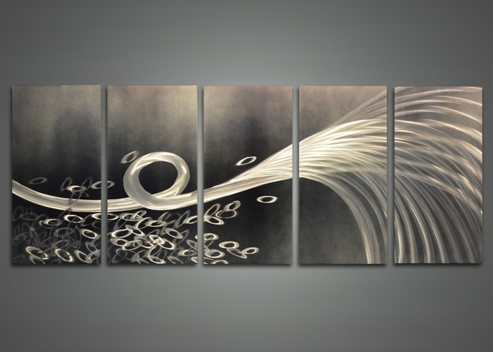 Abstract Metal Wall Art Delectable 15 Modern And Contemporary In Abstract Iron Wall Art (View 15 of 15)