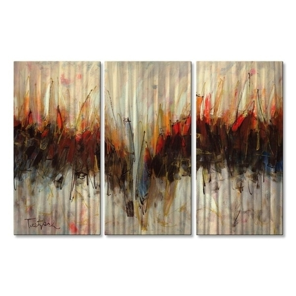 Abstract Metal Wall Art – Usa In Kindred Abstract Metal Wall Art (View 9 of 15)
