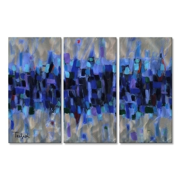 Abstract Metal Wall Art – Usa Throughout Kindred Abstract Metal Wall Art (View 15 of 15)