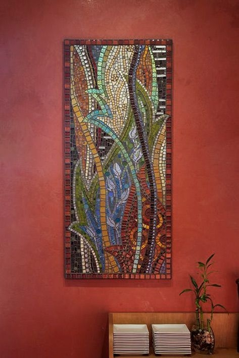 Abstract Mosaic Wall Art – Thenatureofmosaic Gretchen Mcpherson For Abstract Mosaic Wall Art (Image 6 of 15)