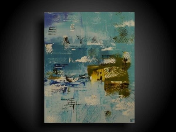 Abstract Painting Modern Painting Wall Art Modern Art Original Intended For Olive Green Abstract Wall Art (View 10 of 15)