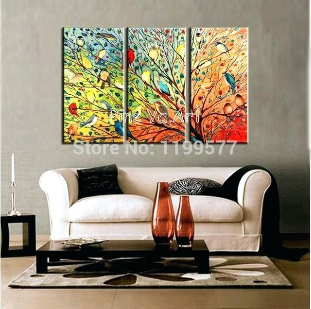 Abstract Wall Art For Living Room 3 Piece Abstract Modern Canvas Pertaining To Abstract Wall Art Living Room (View 3 of 15)