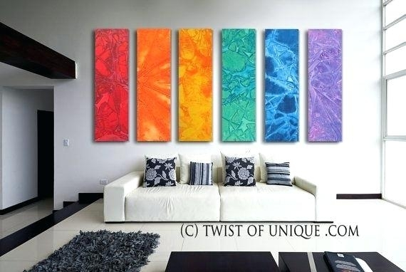 Abstract Wall Art For Living Room Art Hand Painted Oil Painting On In Huge Abstract Wall Art (Image 2 of 15)
