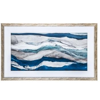 Abstract Waves Framed Wall Decor | Hobby Lobby | 1474477 Within Hobby Lobby Abstract Wall Art (Image 3 of 15)