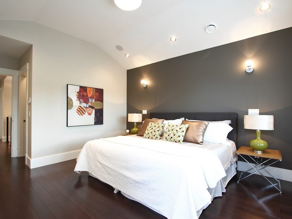 Accent Bedroom Wall Ideas (Image 4 of 15)