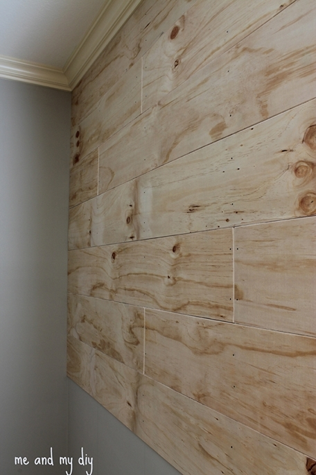 Accent Wall At Me And My Diy | Bedroom | Pinterest | Walls, Wood Pertaining To Wood Paneling Wall Accents (Image 4 of 15)