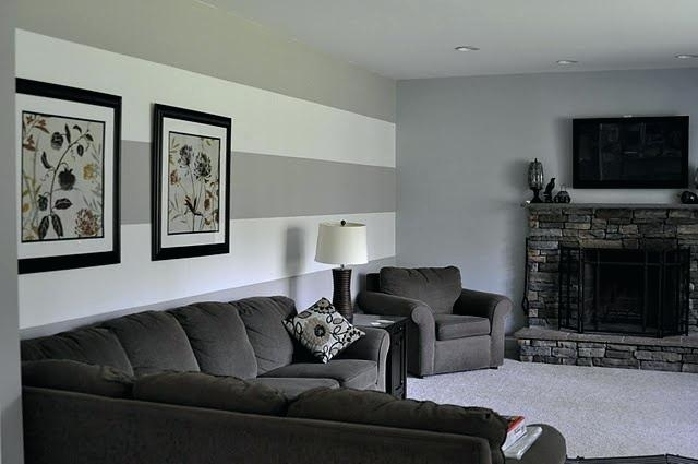 Featured Photo of Wall Accents Behind Tv Or Couch