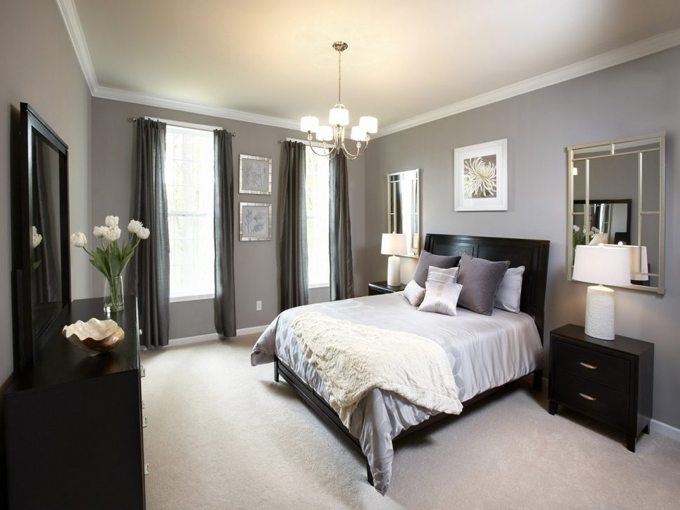 Accent Wall Color Combinations Houzz Bedroom Accent Wall Accent Within Wall Accents Color Combinations (Image 2 of 15)