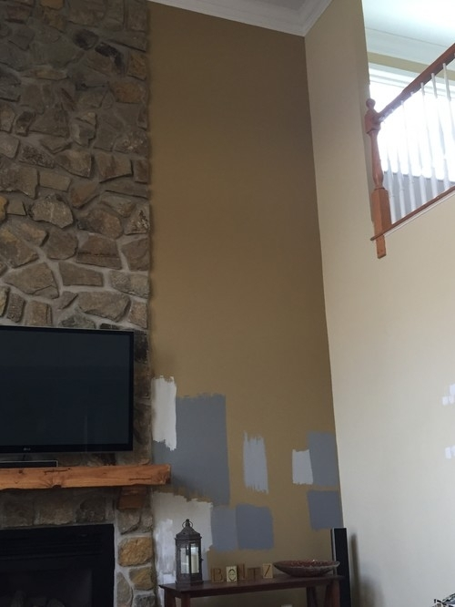 Accent Wall Color To Go With Revere Pewter Throughout Wall Accents For Revere Pewter (Image 1 of 15)