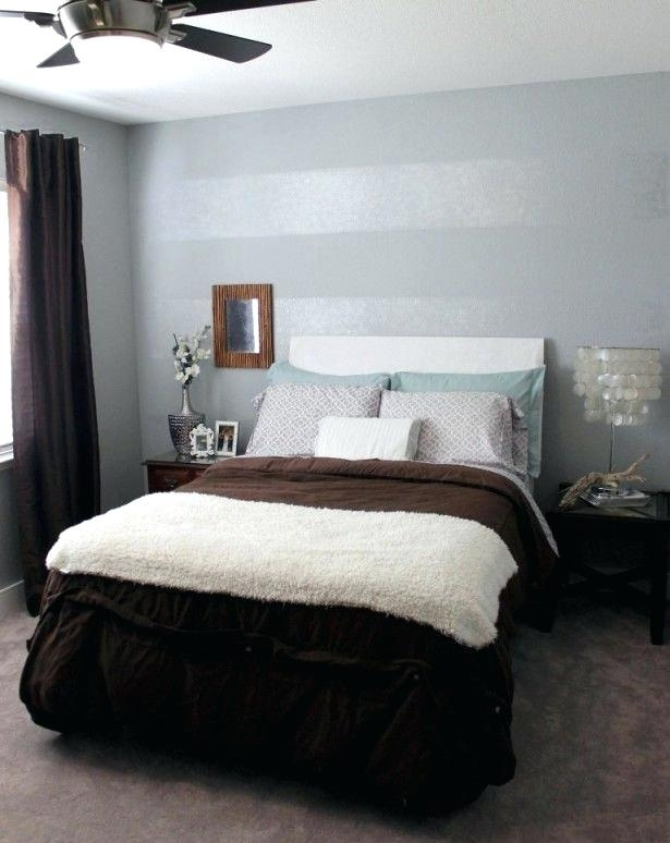 Accent Wall Colors Popular Paint Colors For Bedroom Accent Wall Pertaining To Wall Accents For Small Bedroom (Image 4 of 15)