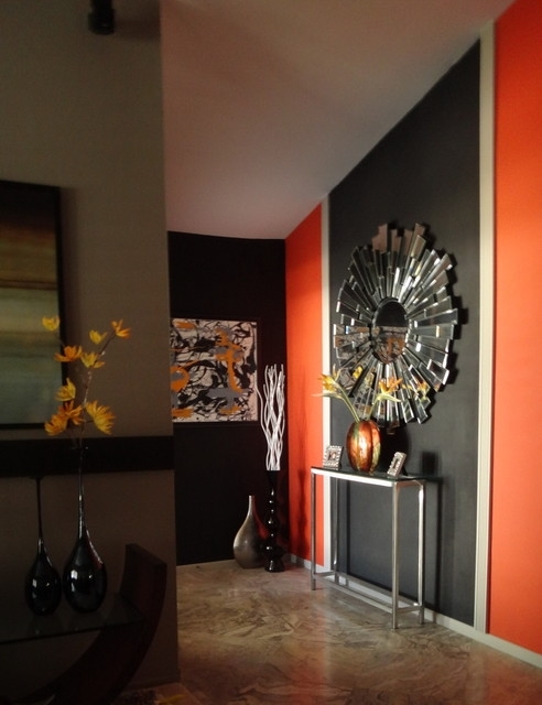 Accent Wall – Modern – Living Room – San Diego Pertaining To Modern Wall Accents (View 7 of 15)