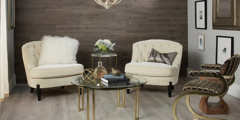 Accent Walls: Laminate Planks Make Installation Easy – Quick•step Intended For Wall Accents With Laminate Flooring (Image 2 of 15)