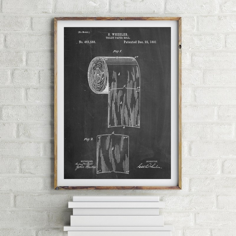 Accessories For Bathroom Design Using Rectangular Chalkboard Funny With Rectangular Wall Accents (Image 2 of 15)