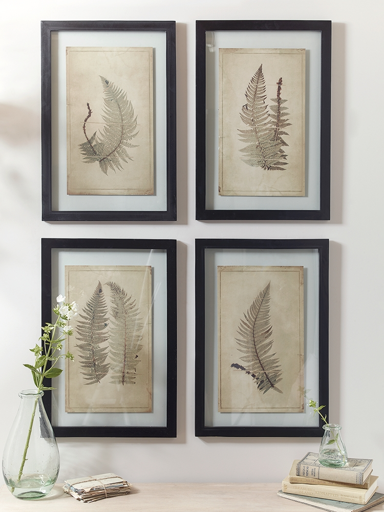 Add A Fresh Botanical Feel To Your Home With Our Set Of Four Throughout Framed Botanical Art Prints (Image 2 of 15)