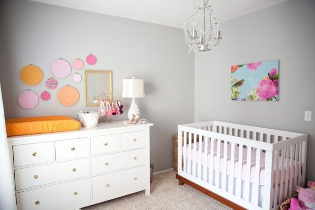 Affordable Art For The Nursery – Project Nursery In Fabric Wall Art For Nursery (Image 3 of 15)