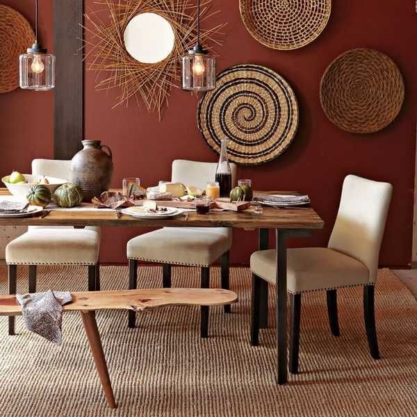 African Dining Room Decor | Modern Wall Decoration With Ethnic Pertaining To African Wall Accents (Image 6 of 27)