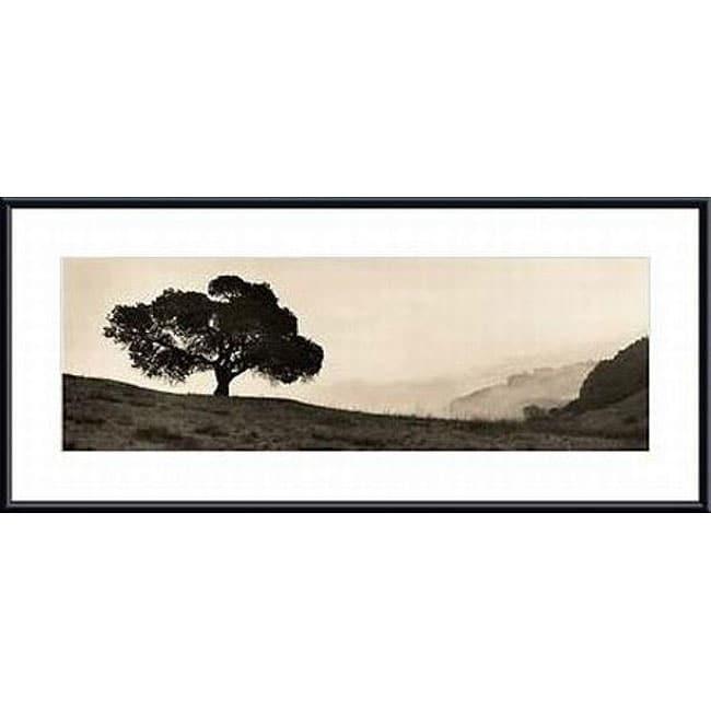 Alan Blaustein 'black Oak Tree' Metal Framed Art Print – Free With Regard To Black Framed Art Prints (Image 3 of 15)