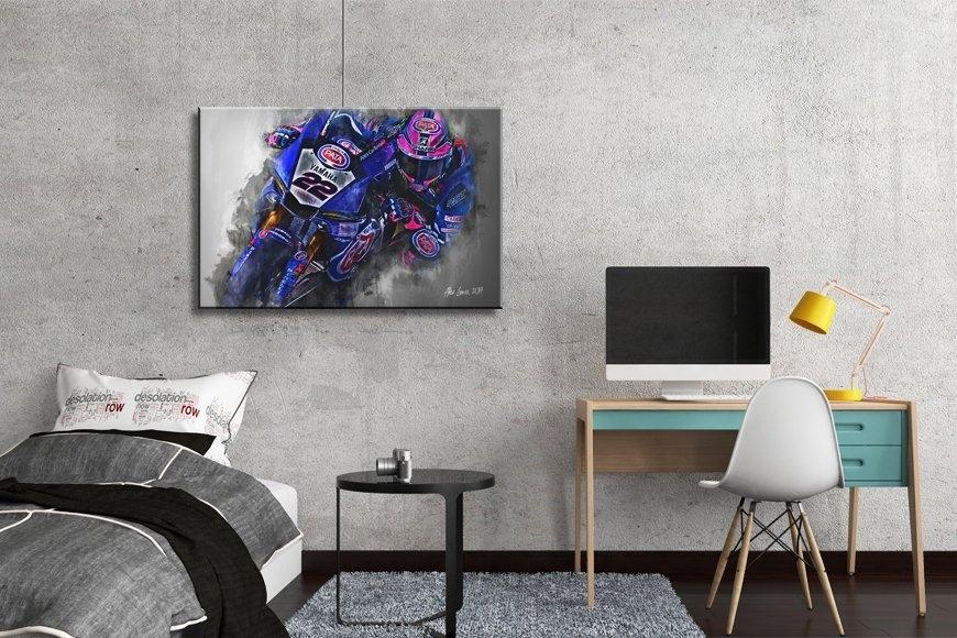 Alex Lowes | Canvas Wall Art Print | Wsb | Motorsport Art With Lowes Canvas Wall Art (Image 3 of 15)