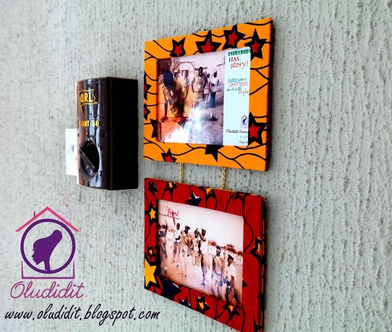 All Things Ankara: Home Interior: Oludidit Wall Decor Frames For Ankara Fabric Wall Art (Image 11 of 15)