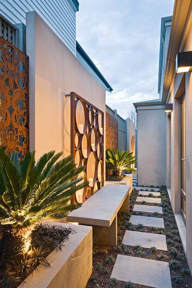 Amazing Contemporary Outdoor Design Ideas Outdoor Wall Artoutdoor For Outdoor Fabric Wall Art (Image 4 of 15)