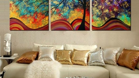 Featured Photo of Kirkland Abstract Wall Art