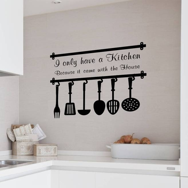Amazing Kitchen Wall Decor 34504 Litro Info Decorating Ideas For Intended For Wall Accents For Kitchen (View 3 of 15)