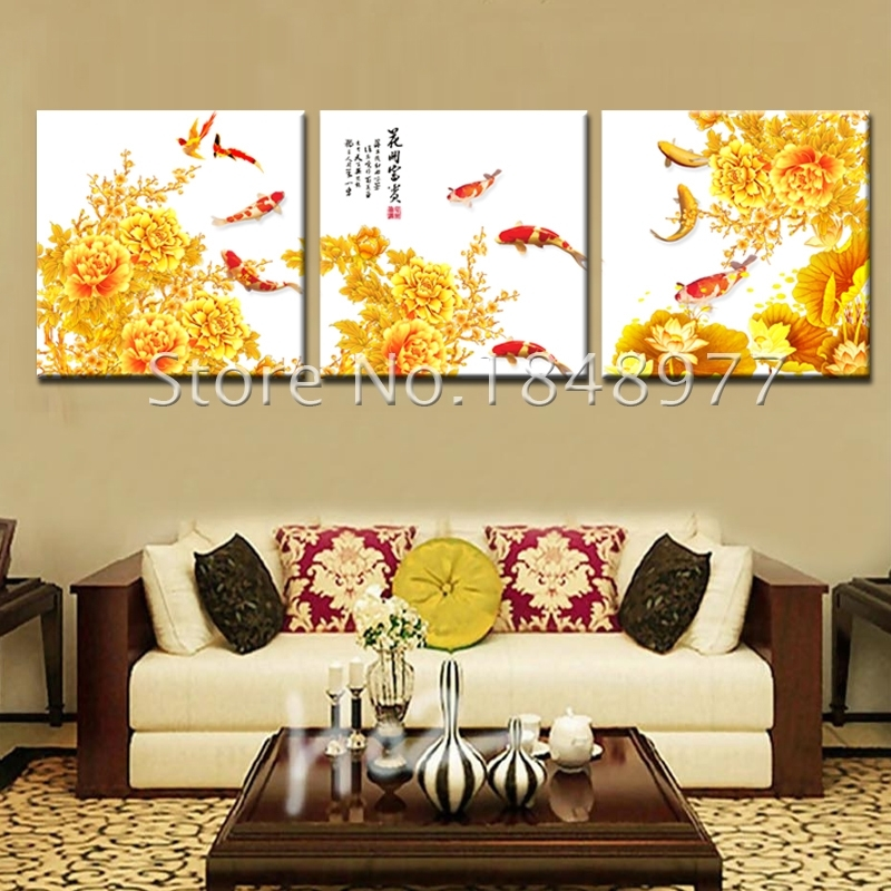Amazing Koi Wall Art Photos – Wall Art Design – Leftofcentrist With Regard To Koi Canvas Wall Art (Image 10 of 15)