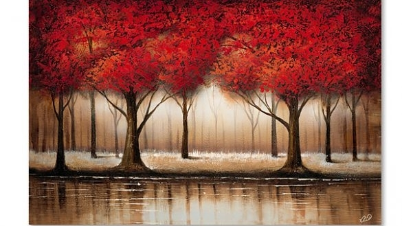 Amazing Tree Canvas Wall Art Con Fine Site Throughout Jcpenney Canvas Wall Art (Image 3 of 15)