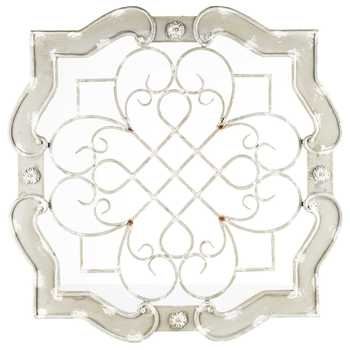 Antique Cream Wood & Metal Wall Decor | Hobby Lobby | 995258 In Hobby Lobby Wall Accents (Image 1 of 15)