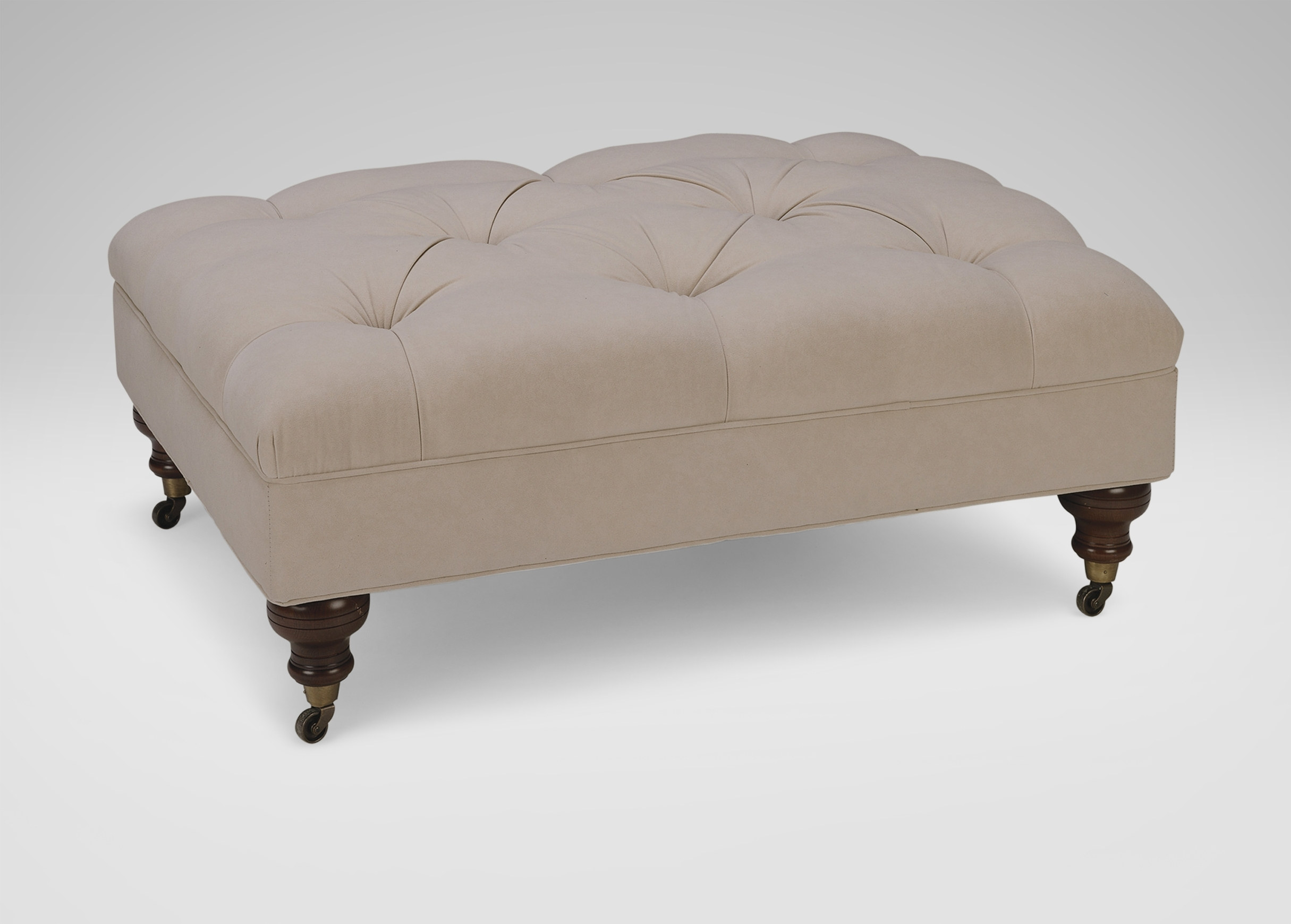 Anton Ottoman | Ottomans & Benches For Ottomans With Wheels (Image 1 of 10)