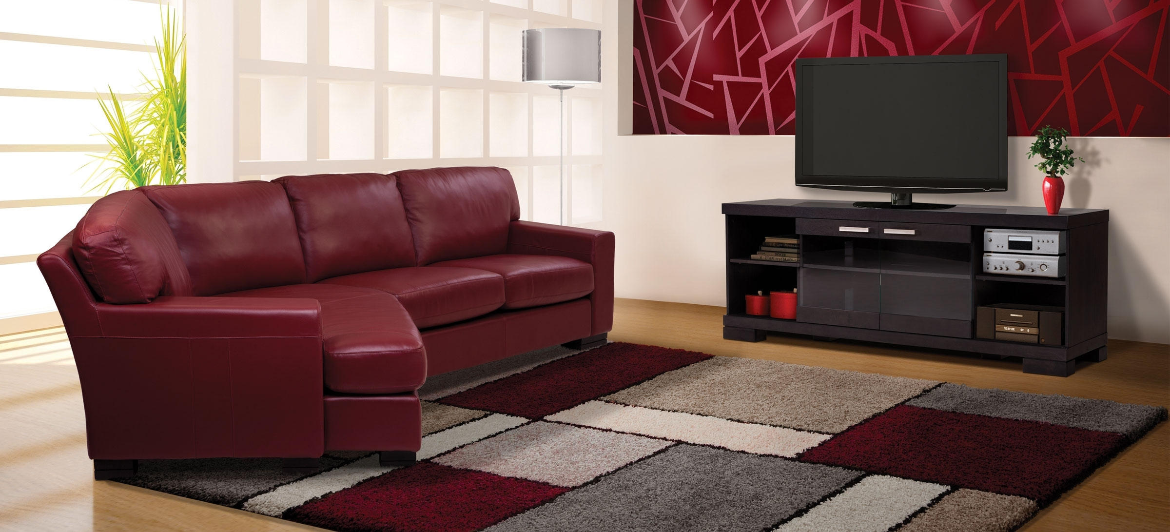 Apartment Sofa Condo – Contemporary Style – Jaymar Collection Inside Sectional Sofas For Condos (Image 3 of 10)