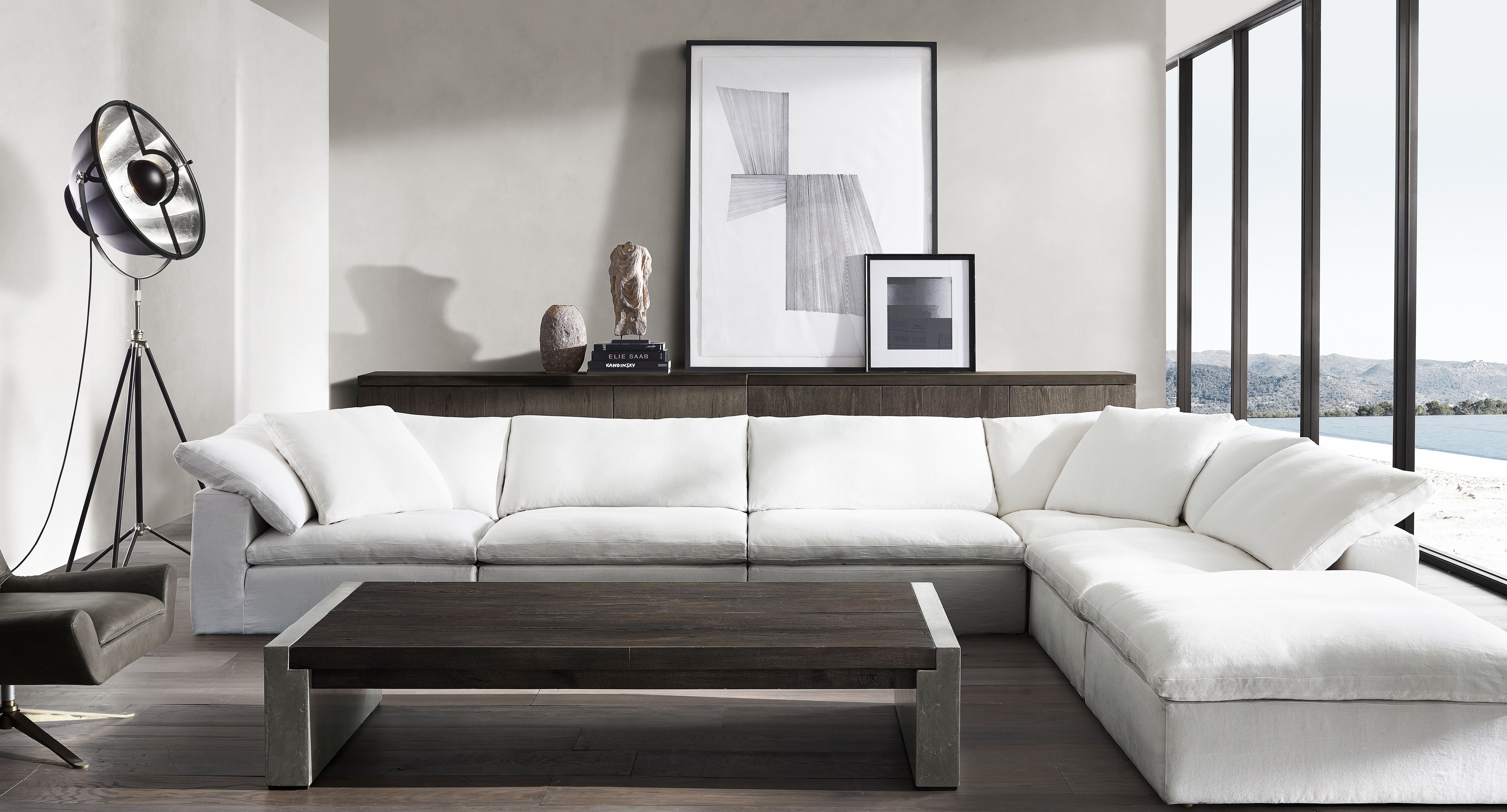 Appealing Restoration Hardware Sectional Sofas 49 For Lee Sectional Intended For Restoration Hardware Sectional Sofas (Image 2 of 10)