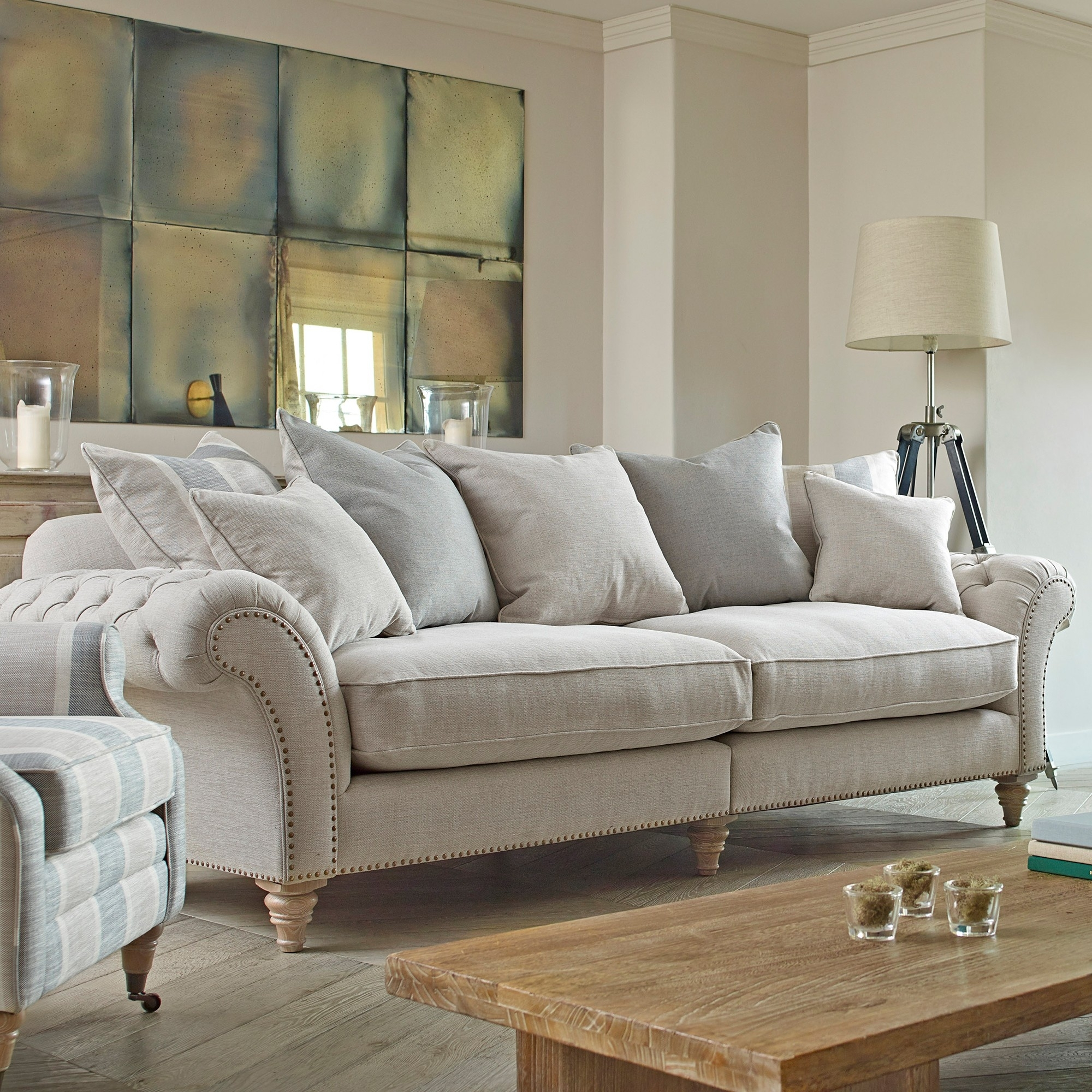Apus Extra Large Sofa – Fabric Sofas – Cookes Furniture Throughout Extra Large Sofas (Image 1 of 10)