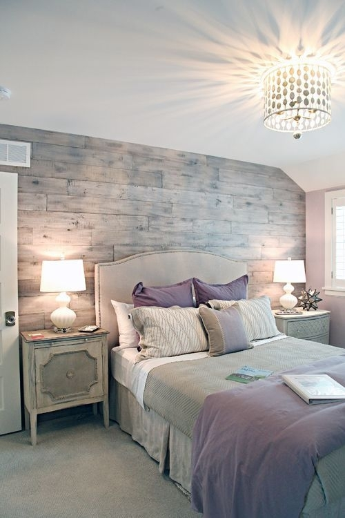 Architecture : Simple Bedroom Decorating Ideas Design With Grey For Wall Accents For Grey Room (View 6 of 15)
