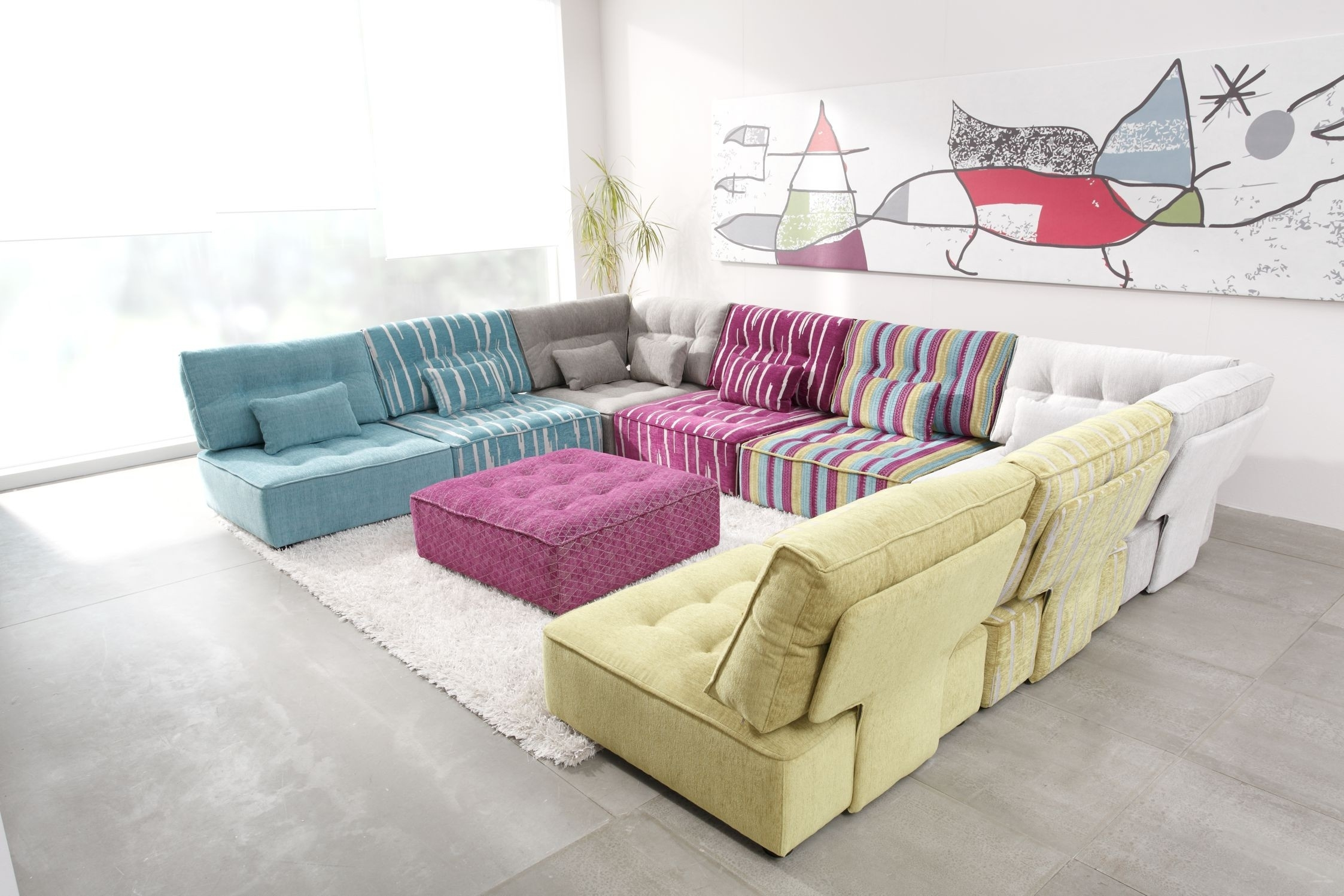 Arianne Modern Modular Sectional Sofa | Fama Sofas In Modular Sectional Sofas (View 10 of 10)