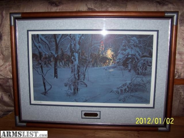 "Armslist – For Sale: Framed Art: ""confederate Christmas"", Civil Within Confederate Framed Art Prints (View 5 of 15)"