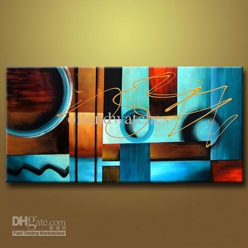 Art Large Oil Painting Canvas An Abstract Modern Wall On Large With Modern Abstract Oil Painting Wall Art (Image 7 of 15)