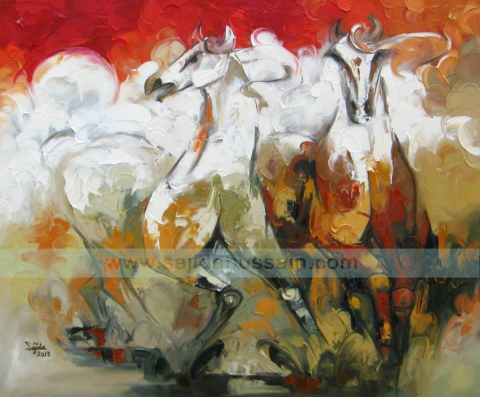 Art Prints For Sale| Best Abstract Horse Art Painting With Regard To Abstract Horse Wall Art (View 10 of 15)