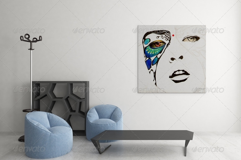 Art Wall Mockups Vol (Image 8 of 15)
