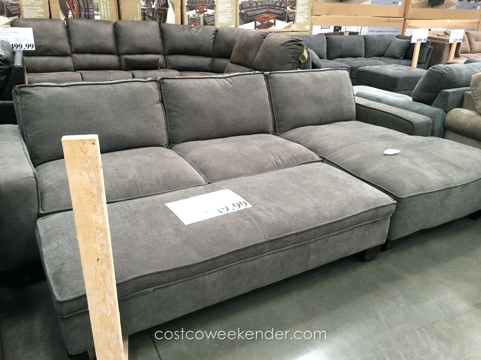 Articles With Gray Sectional Sofa Chaise Lounge Tag 3Pc Contemporary In Sectional Sofas With Chaise And Ottoman (View 4 of 10)