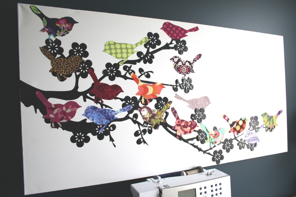 Artist Trading Cards/crafts – Lessons – Tes Teach With Fabric Scrap Wall Art (Image 4 of 15)