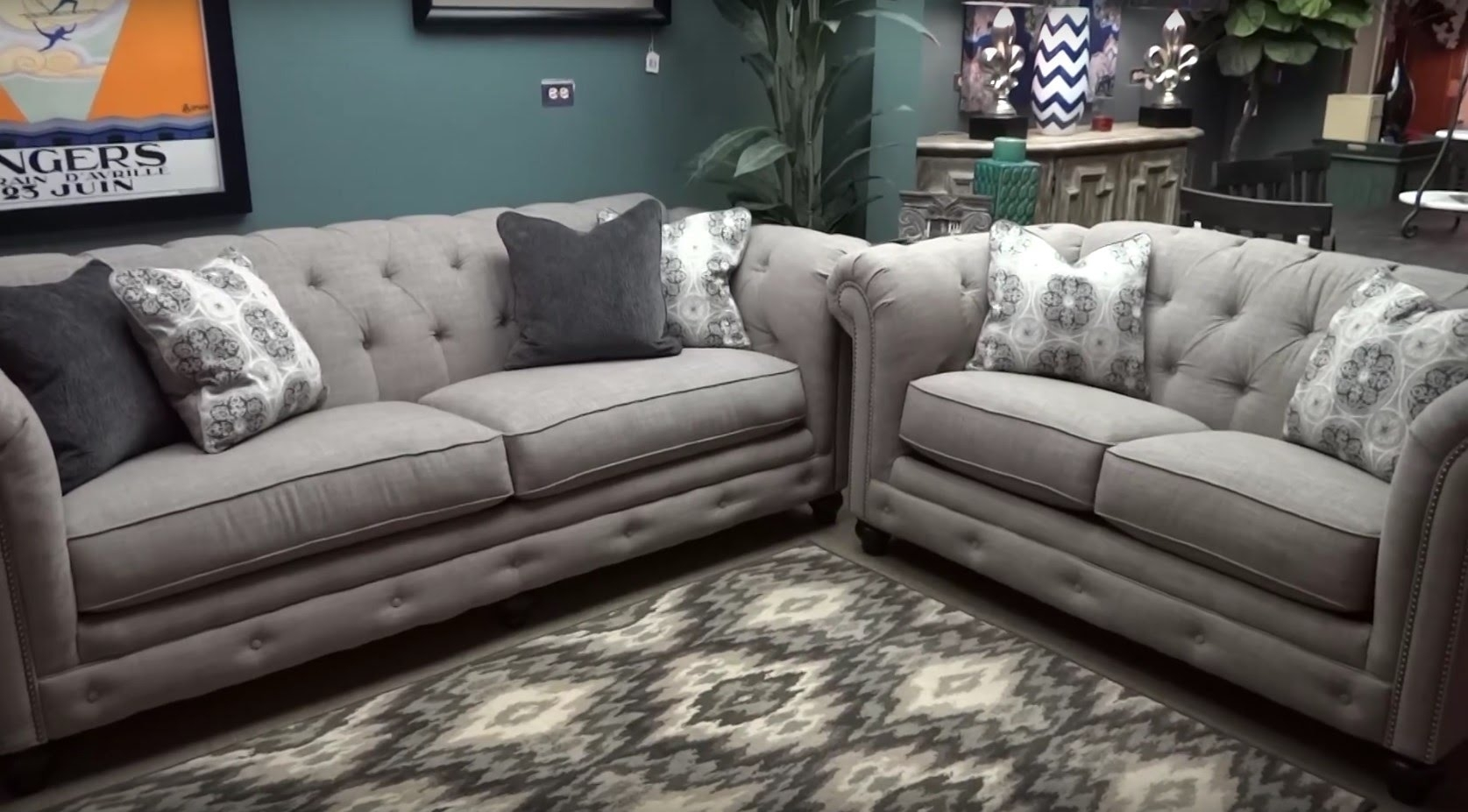 Featured Image of Ashley Tufted Sofas