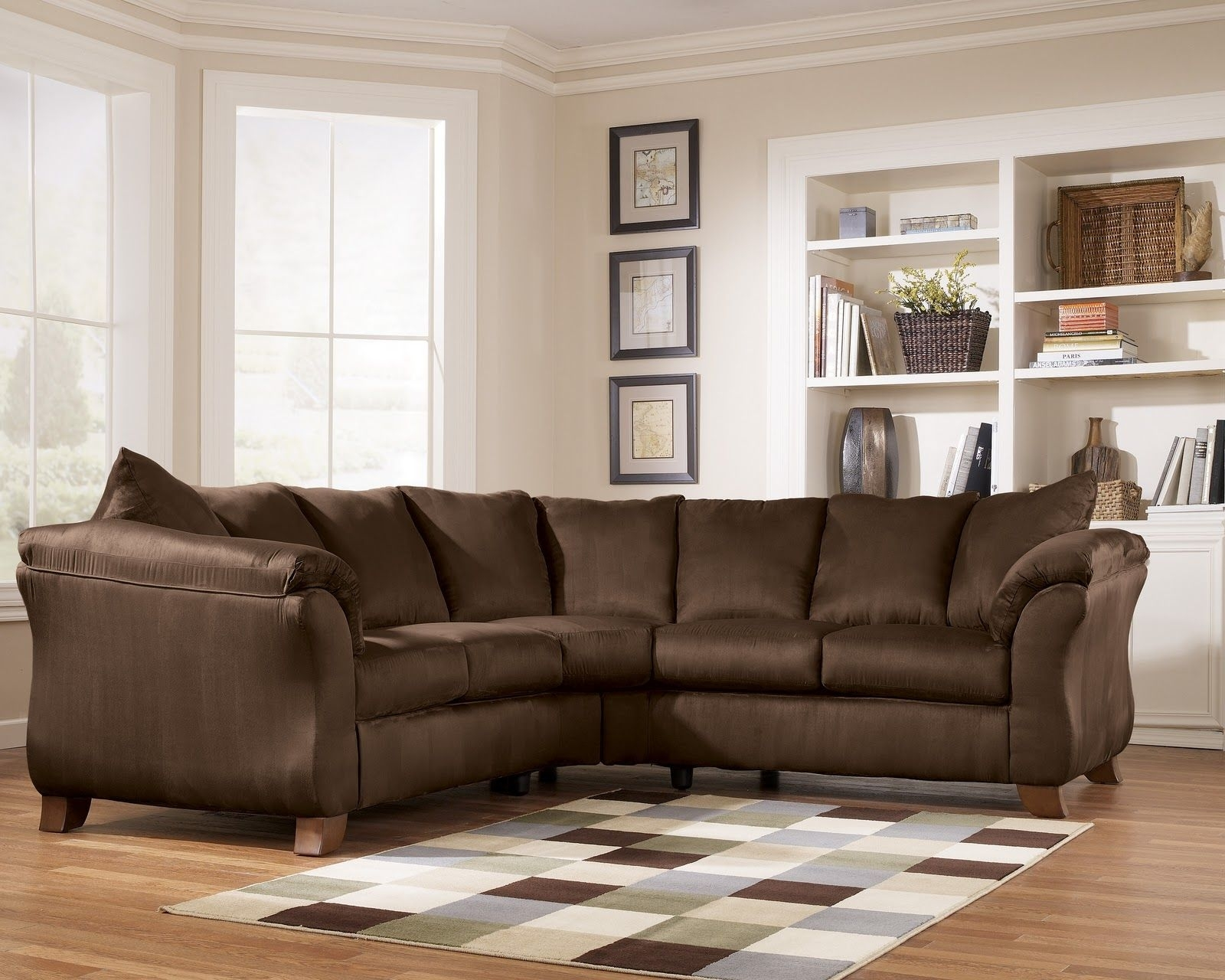 Ashley Furniture – Durapella 36104 Cafe Sectional – Royal Furniture Regarding Royal Furniture Sectional Sofas (View 9 of 10)