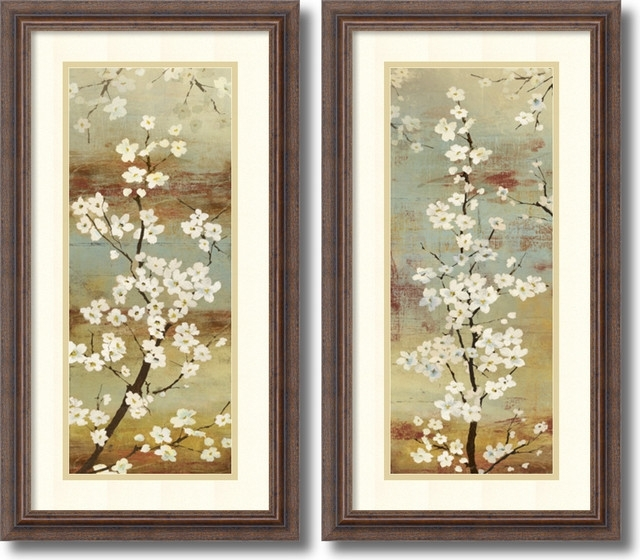 Asian Floral Art Prints – Chatta Artprints Intended For Framed Asian Art Prints (Image 9 of 15)