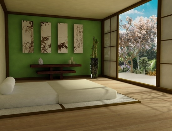 Asian Style For Your Master Bedroom Design – Home Interior Design Regarding Asian Wall Accents (Image 2 of 15)
