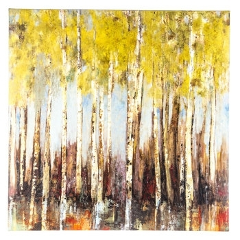 Aspen Trees Canvas Wall Decor | Hobby Lobby | 1295872 With Canvas Wall Art Of Trees (Image 1 of 15)