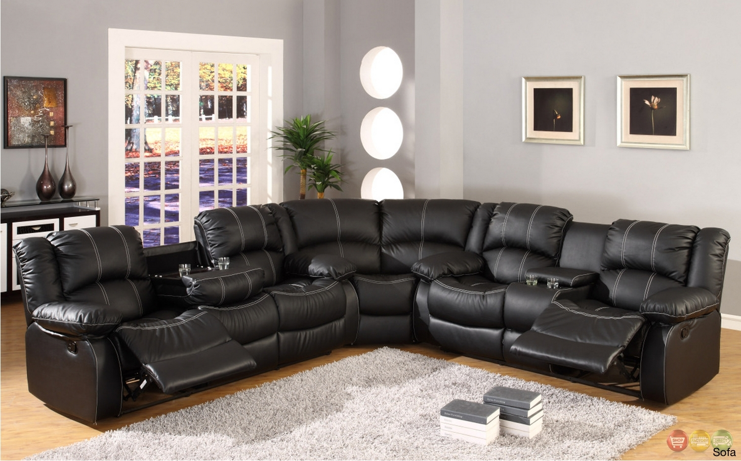 Astonishing Leather Motion Sectional Sofa 24 For Your Media Room For Leather Motion Sectional Sofas (View 3 of 10)