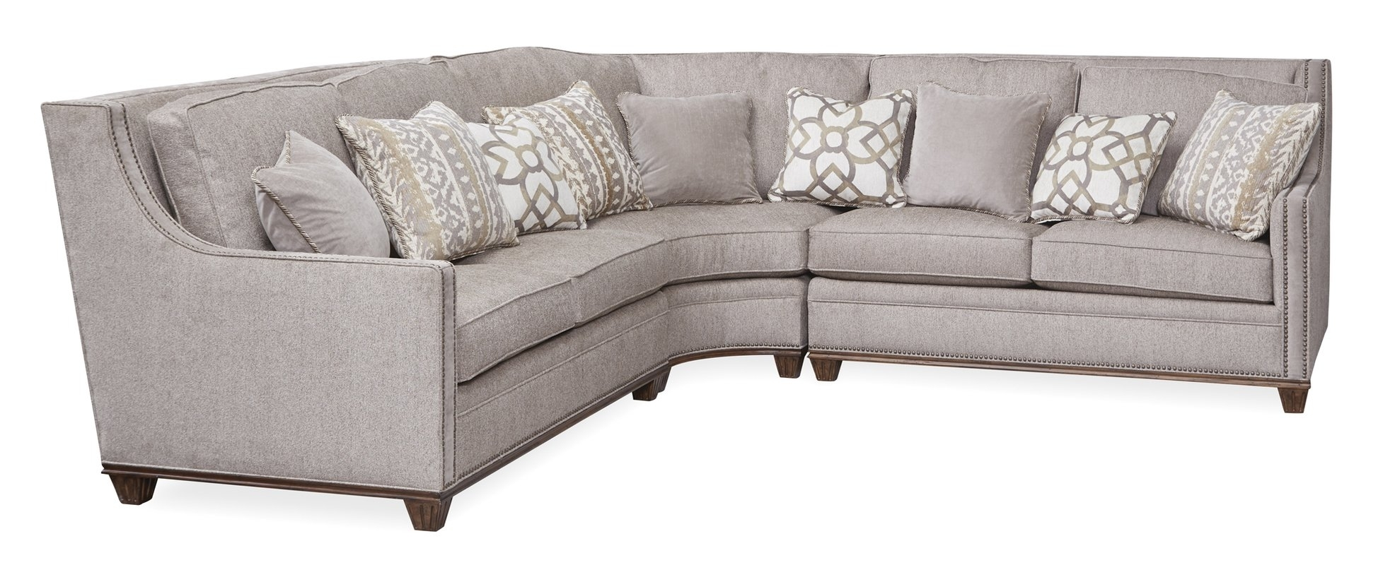 Astoria Grand Memphis Sectional & Reviews | Wayfair Inside Memphis Sectional Sofas (Image 3 of 10)